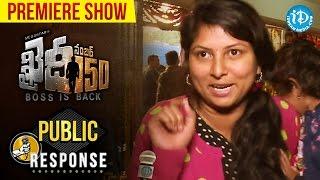 Khaidi No150 Premiere Show Public Response || Chiranjeevi, Kajal Aggarwal || V V Vinayak || DSP