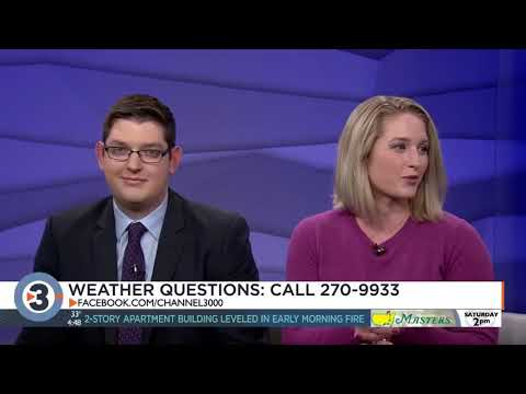 News 3 Now meteorologists answer your weather questions