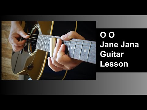 O Oh Jaane Jana Guitar Lead - YouTube