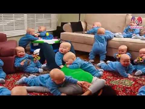 db0170db9 امرئه امريكيه تلد 17 طفل في وقت واحد سبحان الله - YouTube