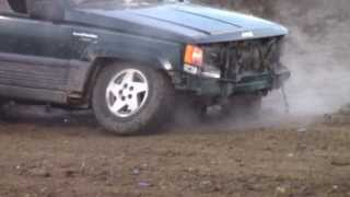 Jeep Cherokee Tough Truck Wreck