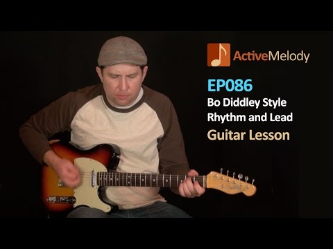 Bo Diddley Rhythm and Lead Guitar Lesson - EP086