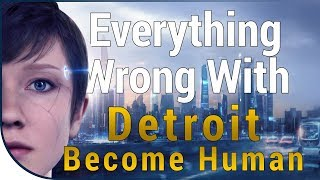 GAME SINS | Everything Wrong With Detroit: Become Human