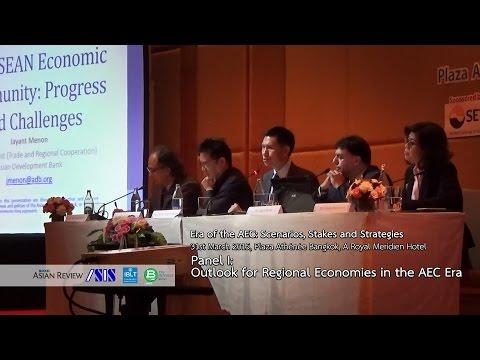 Era of the AEC #2 Panel I: Outlook for Regional Economies in the AEC Era
