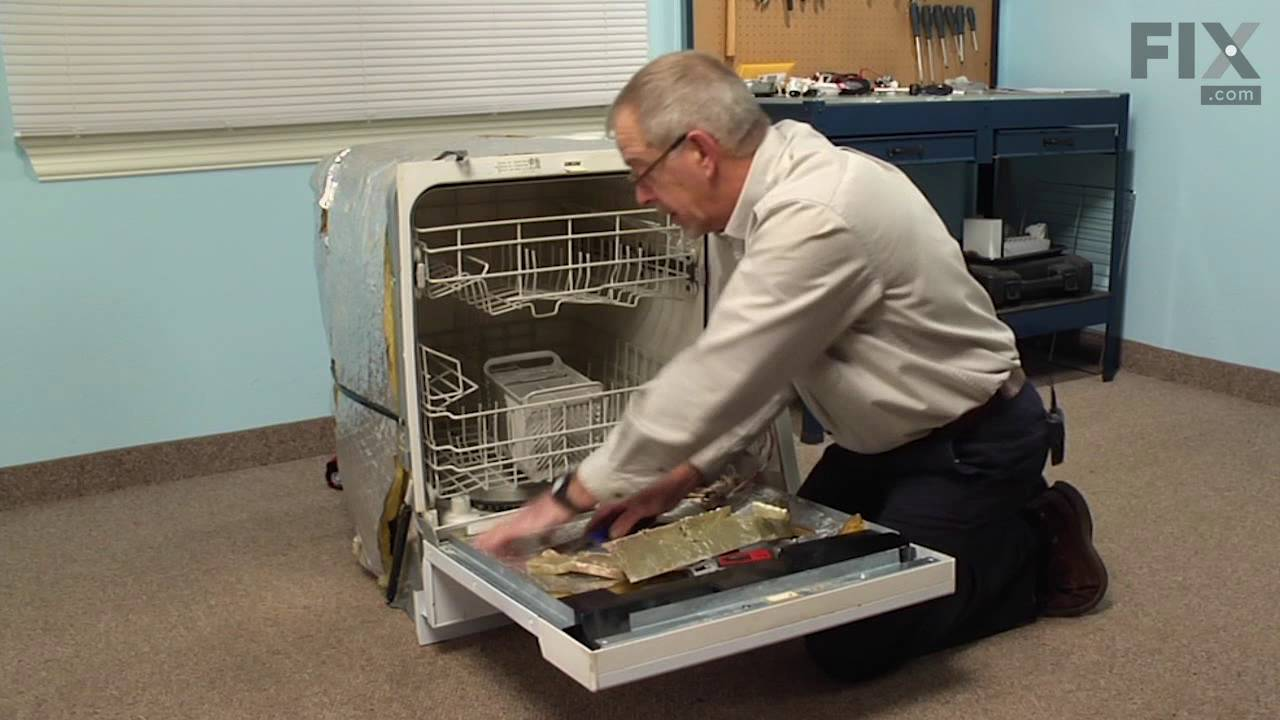 Superb Whirlpool Dishwasher Repair U2013 How To Replace The Inner Door Foam Insulation  Strip