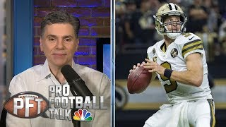 New Orleans Saints want Drew Brees for as long as he'll play | Pro Football Talk | NBC Sports