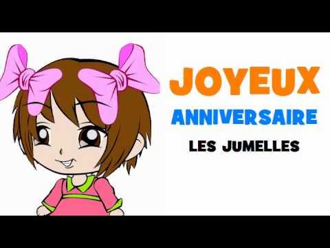 Préférence JOYEUX ANNIVERSAIRE LES JUMELLES! - YouTube LW31