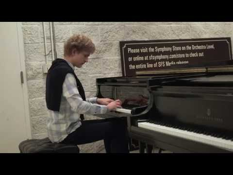 Jan Lisiecki chooses a piano for his San Francisco Symphony debut