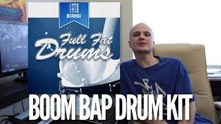 Full Fat Drums - boom bap drum kit for free download