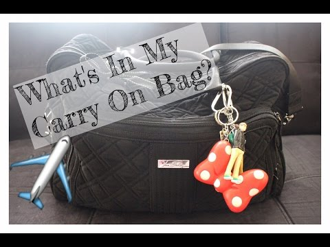 What's In My Carry On Bag | International Flight