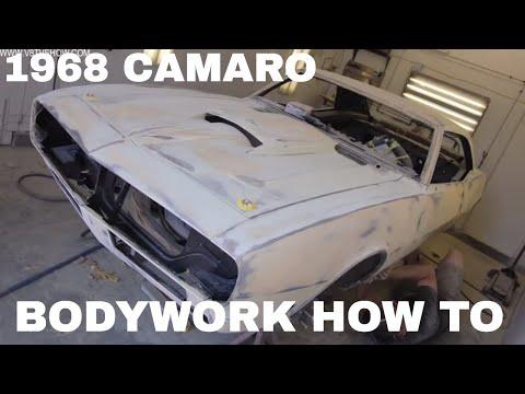 "1968 Camaro ""Reloaded"" Body Filler, Spray Polyester, and Body Work Video V8TV"