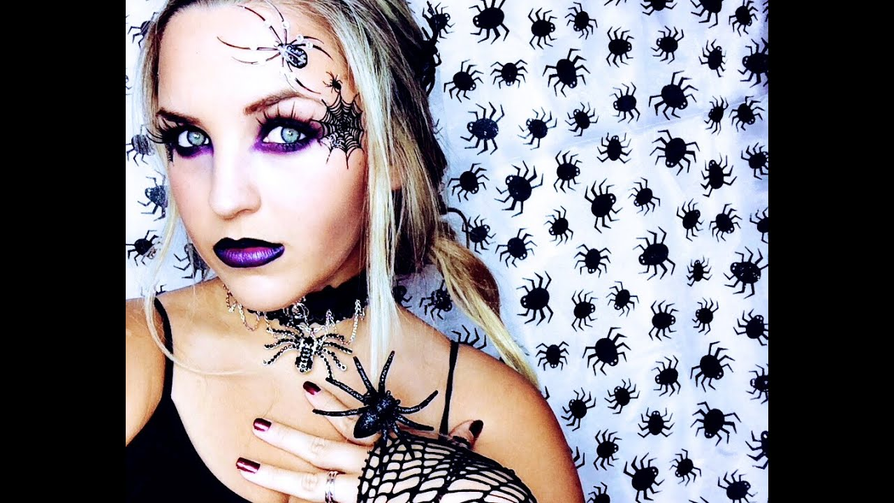 spider witch halloween look youtube - Spider Witch Halloween Costume