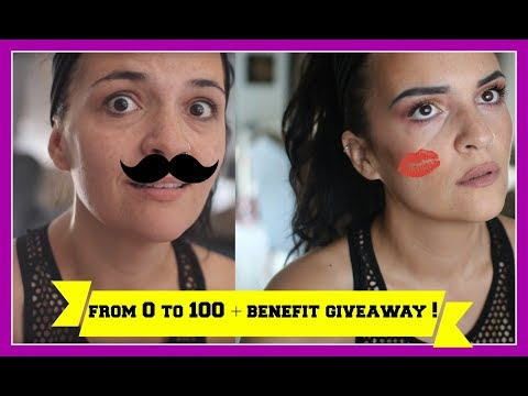 From 0 to 100 - The 10.000 subs edition & Benefit Greece Giveaway   Beautyleaks by Jul