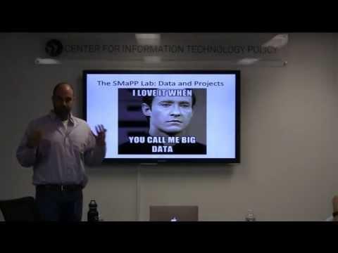 CITP Luncheon Speaker Series: Rich Bonneau & Josh Tucker