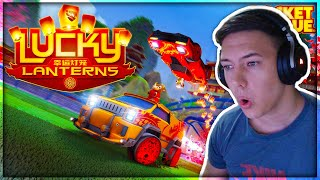 NOVA BRUTALNA MAPA I NOVE NAGRADE!! Rocket League Lucky Lanterns