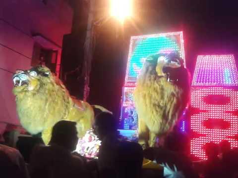 In Bangalore lion sound