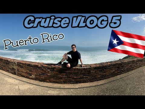 Welcome to Puerto Rico 🇵🇷 | Disney Wonder | Disney Cruise VLOG 5