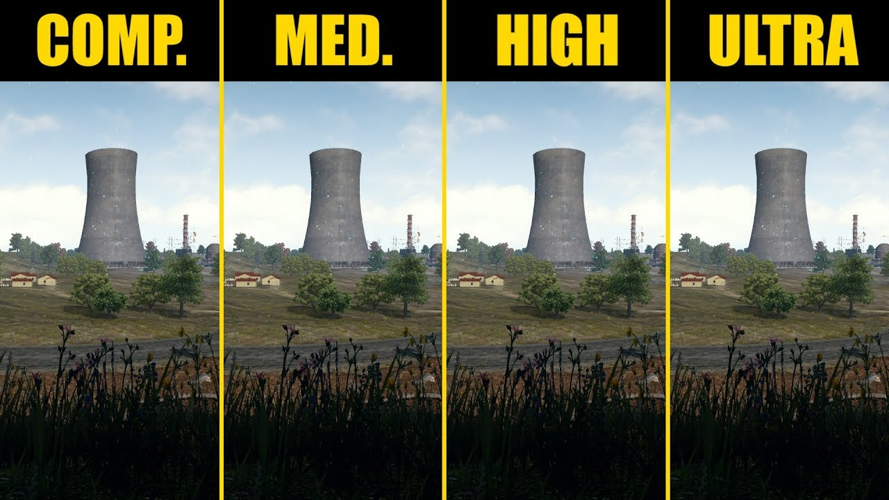 Pubg Hdr Not Working: PUBG GTX 1080 Benchmark (Competitive / Medium / High