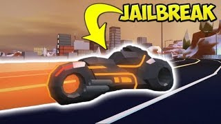 The life of having a volt bike in ROBLOX Jailbreak. // Jet-ski glitch