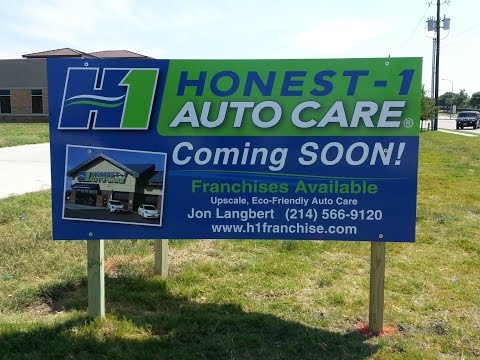 Precision Sign Services - Post & Panel - Sign Installation