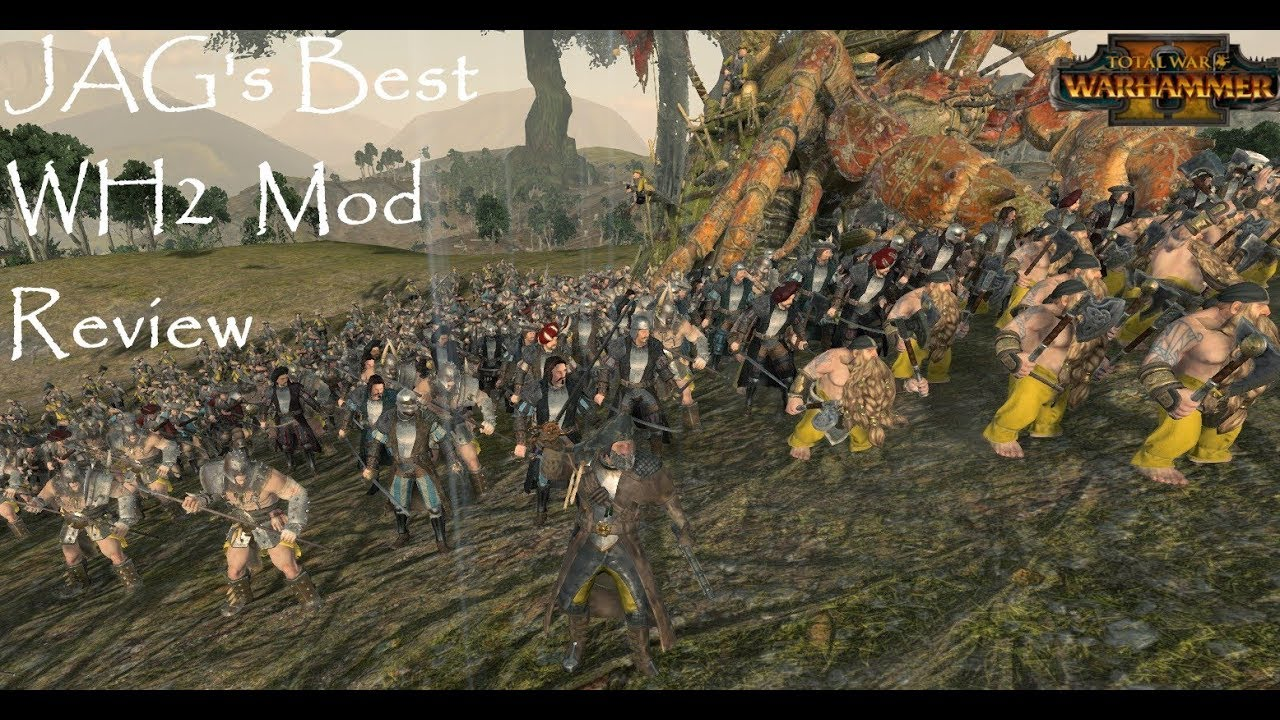 New Pirates of Sartosa Empire, Dwarfs, and Norsca Units! JAG's Best Total  War Warhammer 2 Mod Review