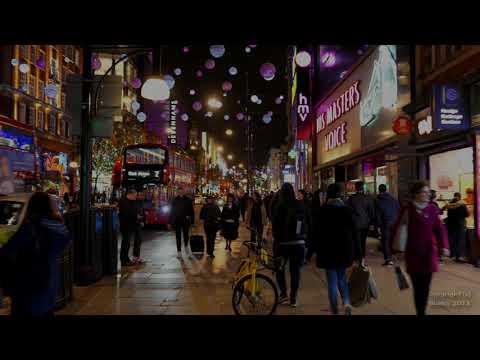 Oxford Street Christmas Lights - London 07th Nov 2018