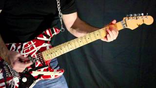 Van Halen Everybody Wants Some Guitar Cover