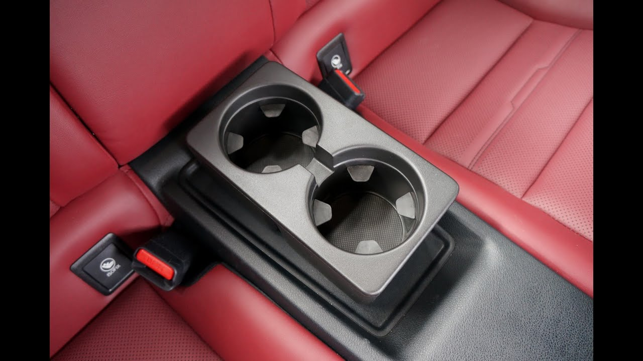 Lexus Is 350 >> Backseat Rear Cup Holder for the Lexus RC 350 - YouTube