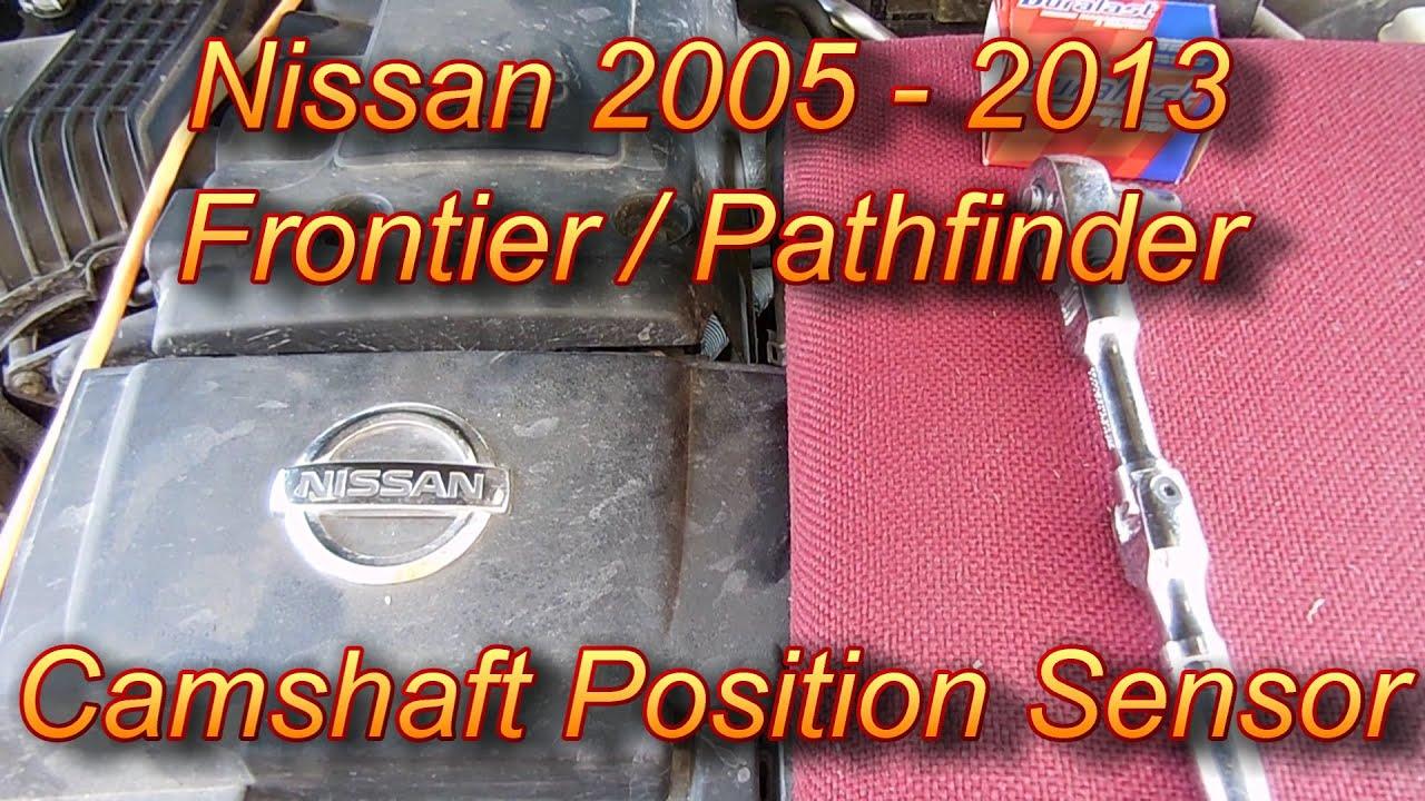 2005 Nissan Pathfinder Engine Diagram Left Side Reveolution Of 2002 Frontier Camshaft Position Sensor 2015 Rh Youtube Com 40