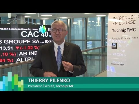 Introduction en bourse de TechnipFMC sur Euronext