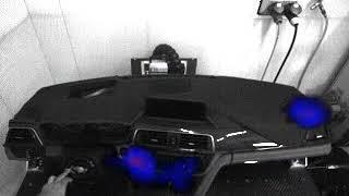 [사운드캠 코리아]사운드캠, SoundCam, 음향카메라, 사운드카메라 자동차 대쉬보드(Dashboard) BSR실험