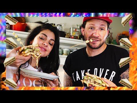 HANGOVER club sandwich maken - Met KRAANTJE PAPPIE in de keuken - Anna Nooshin