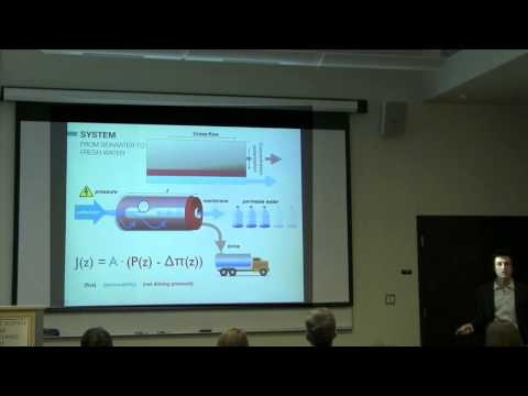 David Cohen-Tanugi | Nanoporous Graphene as a Desalination M