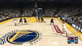 NBA 2K17 Warriors vs Cavaliers FULL GAME