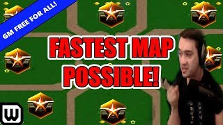 Starcraft 2 GRANDMASTER BATTLE ROYALE #13 | FASTEST MAP POSSIBLE (ft. Campaign Mission)