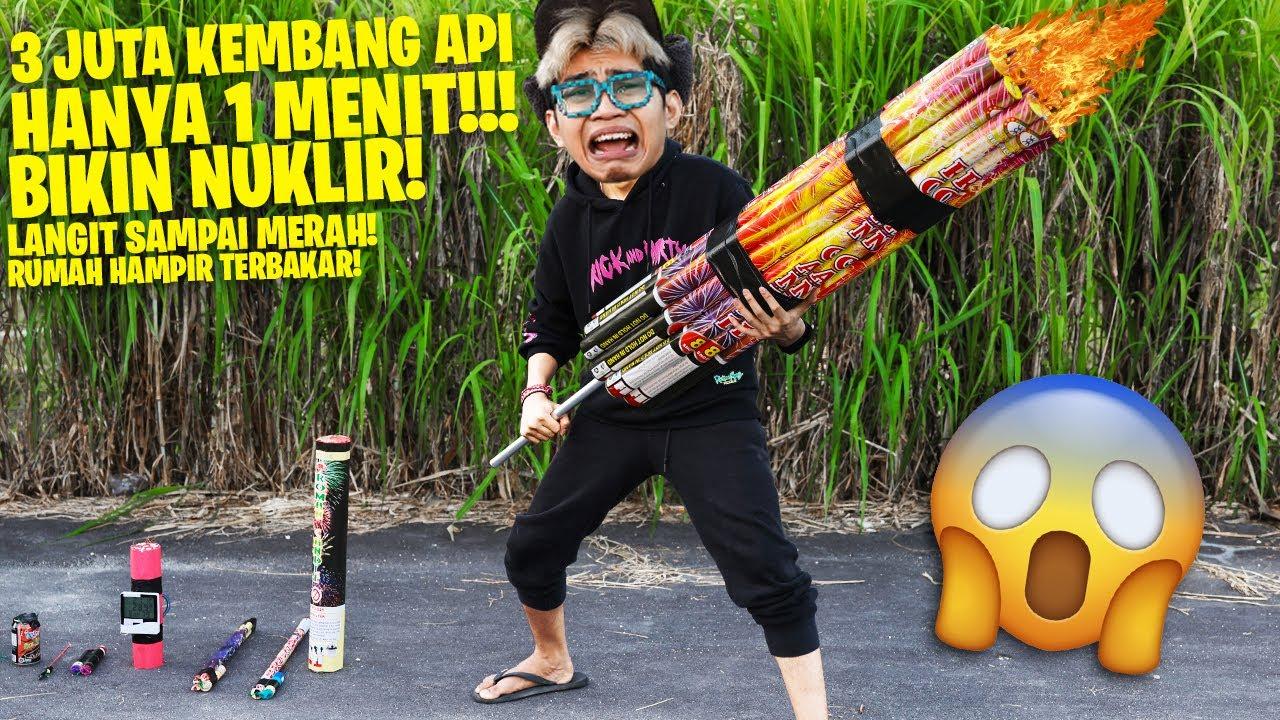 GILA! GABUNGIN BANYAK KEMBANG API JADI 1 !!! LEDAKANYA BISA BIKIN RUMAH MELEDAK!!! *KESALAHAN BESAR*