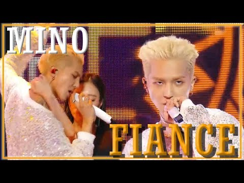 [Solo Debut] MINO - FIANCE,  송민호 - 아낙네 Show Music core 20181201