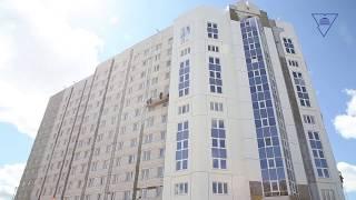 Строительство нового общежития. Май 2020