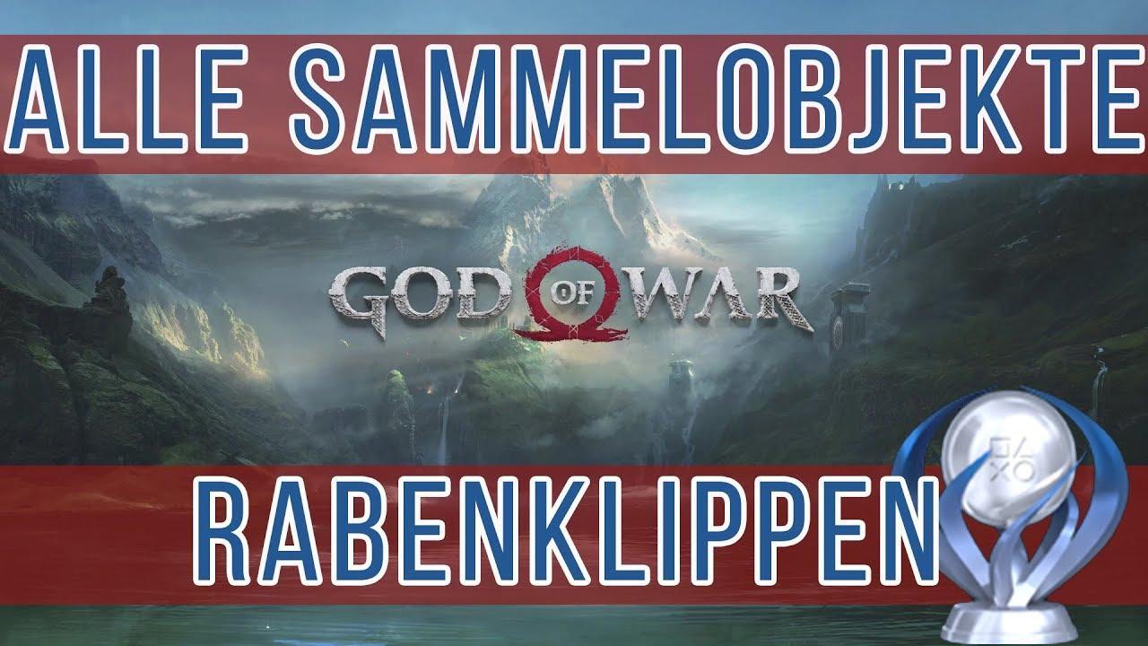 God Of War Rabenklippen Alle Sammelobjekte Raben Nornentruhen
