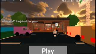 Roblox working at a pizza place with Orlando
