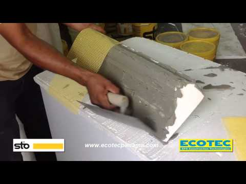 Moldurroc recubrimiento pegado y texturizado del polies - Molduras de corcho ...