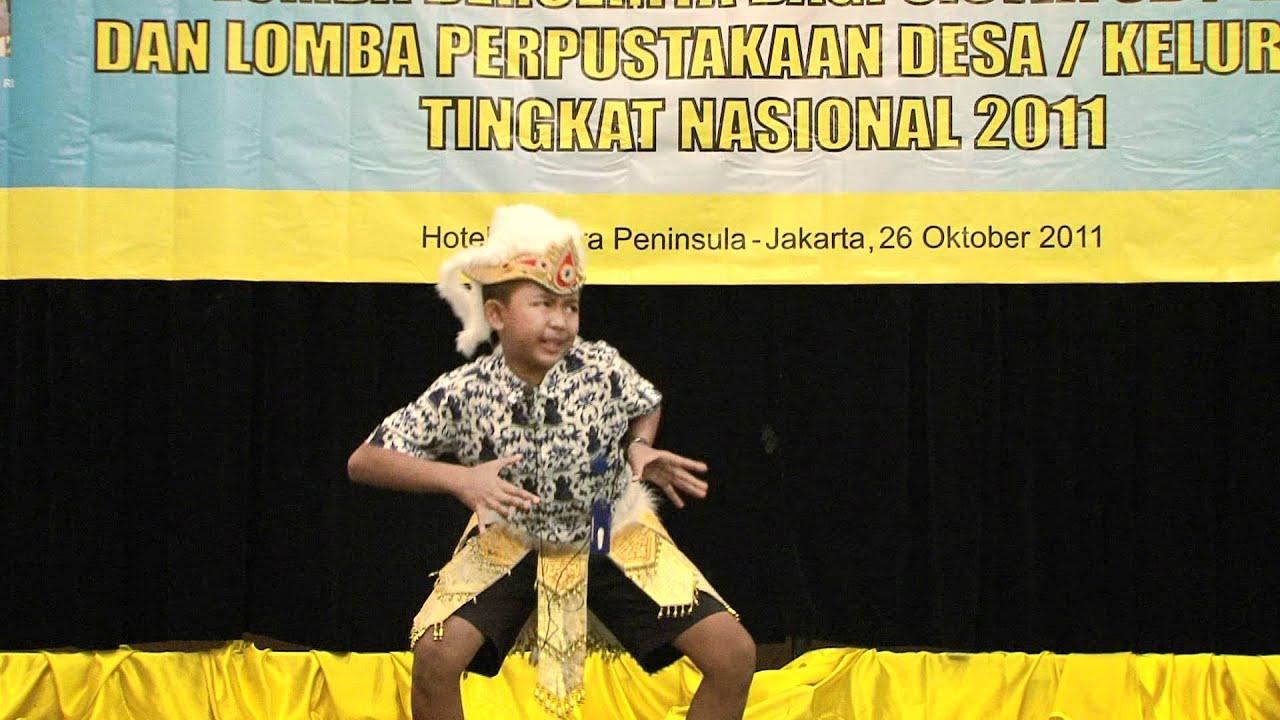 Juara I Lomba Bercerita Tingkat Nasional Bagi Siswa Sd Mi Tahun 2011