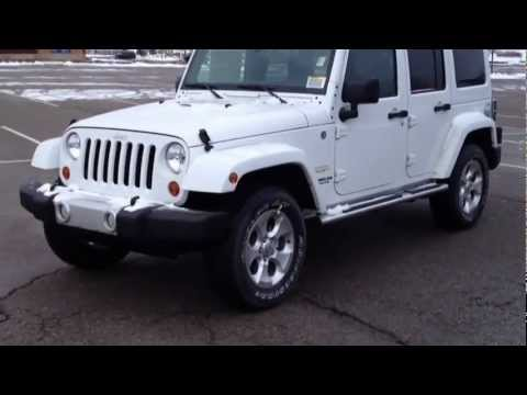 2013 Jeep Wrangler Unlimited Sahara Walk Around/Test Drive/ @MacIver Dodge  Newmarket John MacIver