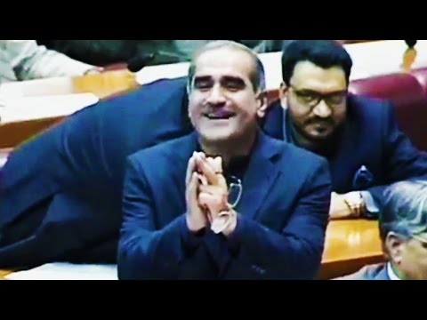 Khawaja Saad Rafique Speech - Response to Shah Mehmood Qureshi