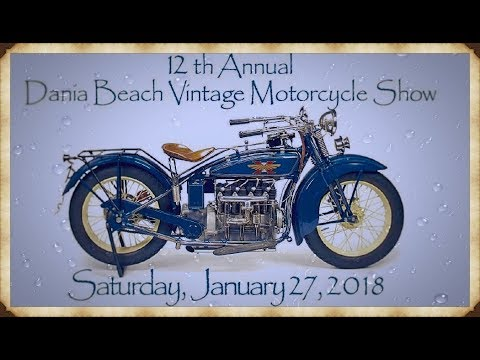2018 12Th. Annual Dania Beach Vintage motor show...