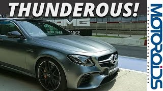 2018 Mercedes-Benz E63 AMG Track Review - Astute Ominosity