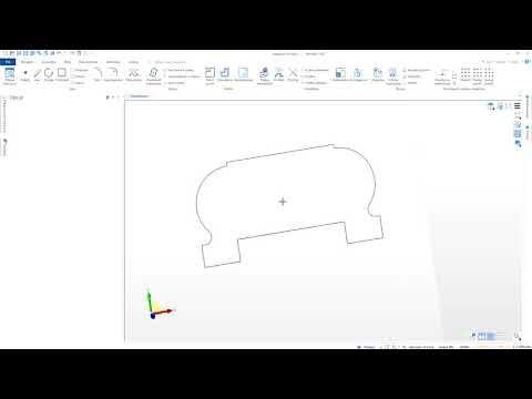 Edgecam Designer – Tworzenie brył za pomocą przeciągnięcia przekroju po prowadnicy
