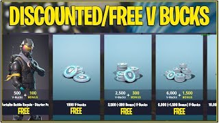 *NEW* Fortnite: HOW TO GET DISCOUNTED/FREE V-BUCKS! | (PS4 Only)
