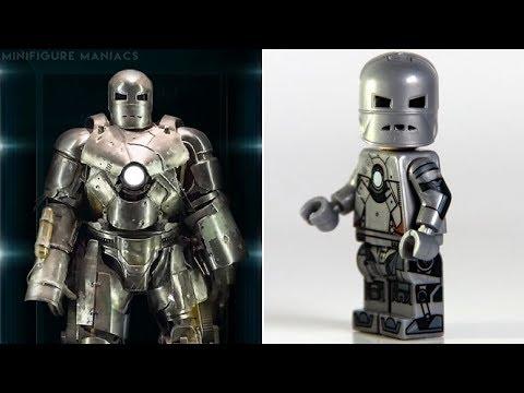 LEGO IRON MAN - Minifigures VS Movies & Comics