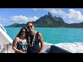 Moorea and Bora Bora Honeymoon July 2016